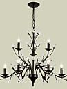 Tiffany Vintage Modern/Contemporan Tradițional/Clasic Retro Țara Candelabre Pentru Sufragerie Dormitor Cameră de studiu/Birou Cameră de