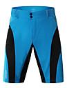 WOSAWE Herr Cykelbyxor / Cykelshorts Cykel MTB-shorts / Underdelar Polyester Blå och Svart Cykelkläder