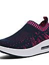 Pentru femei Pantofi Tul Vară Toamnă Adidași de Atletism Plimbare Platformă Vârf rotund pentru Negru Albastru Închis Gri Fucsia