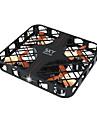 Dronă JJRC HY382 Black 4CH 6 Axe - Iluminat LED Failsafe Headless Mode Planare Quadcopter RC Telecomandă Cablu USB Manual Utilizator
