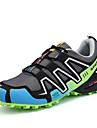 Erkek Ayakkabı PU Bahar / Sonbahar Atletik Ayakkabılar Koşu Günlük için Bağcıklı Gri / Siyah / Kırmızı