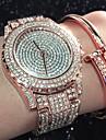 Pentru femei Unic Creative ceas Ceas Casual Simulat Diamant Ceas Ceasuri Pave Ceas La Modă Ceas Brățară Chineză Quartz Rezistent la Apă