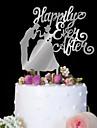 Vârfuri de Tort Zi de Naștere Nuntă Calitate superioară Plastic Nuntă Zi de Naștere cu 1 Sac PVC