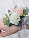 """Flori de Nuntă Corsaj de mână Nuntă Poliester 3.94""""(Approx.10cm)"""