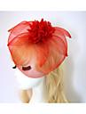 Resina / Algodon Fascinators / Flores / Sombreros con 1 Boda / Ocasion especial / Halloween Celada