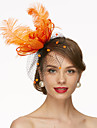 Filet Kentucky Derby Hat / Fascinators / Chapeaux avec 1 Mariage / Occasion speciale Casque