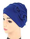 Pentru femei Mată Floral Pălărie, Bumbac - Clop Floppy Palarie de soare
