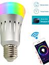 7W E27 Bulbi LED Inteligenți A60(A19) 22 led-uri SMD 2835 WIFI RGB Alb 600lm 3000/6000/5000/K AC 85-265V