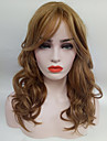 Synthetic Wig Wavy Women\'s Capless Natural Wigs Medium Synthetic Hair