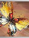 Hang målad oljemålning HANDMÅLAD - Landskap Abstrakt Duk