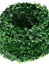 1 Gren Polyester Plantor Väggblomma Konstgjorda blommor