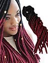 ブレイズヘア かぎ針編み 前のループかぎ針編みの三つ編み 100%カネカロン髪 / カネカロン 20ルーツ / パック 髪の三つ編み ソフト / 合成 / グラデーション・ブレーズヘア / 各パックには1個のピースが含まれています.1個のピースは20のルーツから構成されています.フルヘッドの場合、通常5〜6個で十分です.