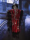 Halloween props partid bar ktv voce decorat activ agățat craniu fantomă schelet cu ochi roșii strălucitoare și efecte de sunet