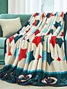 Lână Coral Stele Poliester/ Amestec De Bumbac pături