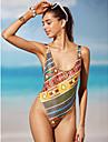 Femei O Piesă Femei Bustieră Monocolor Geometrică Boho Polyester