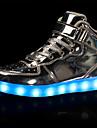 Fete Adidași Confortabili Pantofi Usori Microfibră PU sintetică Toamnă Iarnă Casual Party & Seară Dantelă Cârlig & Buclă Toc PlatAuriu