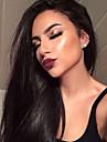 Remy-hår Hel-spets Peruk Rak 180% Densitet 100 % handbundet Afro-amerikansk peruk Naturlig hårlinje Korta Mellan Lång Dam Äkta peruker