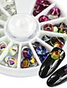 1 Nail Smycken Gör-det-själv-produkter 3D Glitters kristall Artistisk Lyx Geometrisk Jeweled Accessoarer Aktiv Mode Ny ankomst Vackert