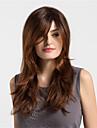 Synthetische Peruecken Lose gewellt Stil Kappenlos Peruecke Braun Copper Brown Synthetische Haare Damen Gefaerbte Haarspitzen (Ombré Hair) Braun Peruecke Lang / Sehr lang MAYSU Natuerliche Peruecke