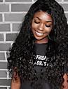 Äkta hår 360 Fasad Peruk Brasilianskt hår Vattenvågor Med babyhår 180% Densitet Till färgade kvinnor Korta Mellan Lång Dam Äkta peruker