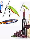 hantera professionell vinöppnare multifunktions bärbar skruvkorkskruv vinflasköppnare kokverktyg