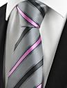 Bărbați Dungi Linii, Poliester - Cravată