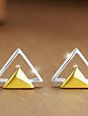 Pentru femei Cercei Stud Bijuterii La modă Personalizat Plastic Triangle Shape Bijuterii Pentru Casual