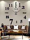 Modern/Contemporan Țara Informal Birou / Afacere Altele Temă Grădină Temă Clasică Romantic Ceas de perete,Rotund Oțel inoxidabil EVA