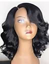 Remy-hår Hel-spets Peruk Brasilianskt hår Vågigt 130% 150% 180% Densitet 100% Jungfru Korta Lång Mellanlängd Dam Äkta peruker med hätta