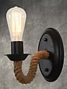 AC 220-240 AC 110-120 40 E26/E27 Vintage Land Målning Särdrag for Ministil,Stämningsljus vägg~~POS=TRUNC