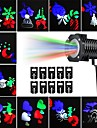 kwb proiector de lumină în aer liber multicolor rotativ condus de lumină proiecție impermeabil fulg de zăpadă spotlight-10buc model