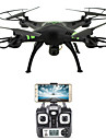 RC Drone FLYRC X53 RTF 4 Canaux 6 Axes 2.4G Avec Camera HD 1.0MP 1080P*720P Quadri rotor RC Retour Automatique / Auto-Decollage / Acces