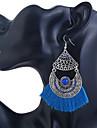 Pentru femei Cercei Picătură Bohemia Stil Supradimensionat Bumbac Aliaj Circle Shape Bijuterii Pentru Zilnic Ieșire