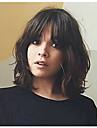 Remy-hius Liimaton puoliverkko Lace Front Peruukki tyyli Brasilialainen Laineita Peruukki 130% 150% 180% Hiusten tiheys ja vauvan hiukset Luonnollinen hiusviiva 100% käsinsidottu Naisten Lyhyt