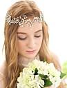 Cristal Imitație de Perle Banderolele Veșminte de cap Lantul Capului with Floral 1 buc Nuntă Ocazie specială Zi de Naștere Felicitări