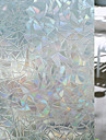 Geometrisk Fönsterklistermärke, PVC/Vinyl Material fönster~~POS=TRUNC Vardagsrum Badrum Butik / Cafe Kök