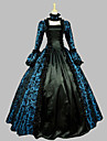 One-piece/Klänning Gotisk Lolita Söt Lolita Klassisk/Traditionell Lolita Punk Lolita Vintage-inspirerad Elegant Victoriansk Rokoko