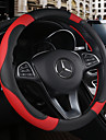 Steering Wheel Covers Leather 38cm Beige / Black / Brown / Black / Red For Chevrole All years