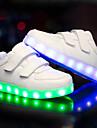 Băieți Pantofi PU Toamnă Iarnă Pantofi Usori Adidași LED pentru Casual În aer liber Alb Negru
