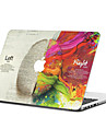 MacBook Fodral för Oljemålning Polykarbonat Material