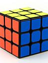 Rubiks kub MoYu 3*3*3 Mjuk hastighetskub Magiska kuber Utbildningsleksak Stresslindrande leksaker Pusselkub Lena klistermärken Fyrkantig