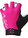 spakct - gants de cyclisme féminin de doigt courte