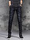 Bărbați Zvelt Talie Medie,Micro-elastic Skinny Blugi Pantaloni Mată