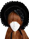 Lolita Accesorii Lolita Stil Gotic lolita lolita Negru Lolita Accesorii Șapcă Pălărie Dantelă Pentru