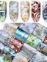 16 pcs Искусственные советы для ногтей Стикеры маникюр Маникюр педикюр Модный дизайн Изысканный и современный