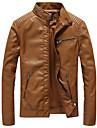 Bărbați Stand Mărime Plus Size Jachetă Mată