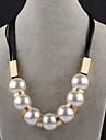 Pentru femei Lănțișoare Imitație de Perle Round Shape Imitație de Perle Bijuterii Pentru Petrecere Scenă