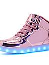 Băieți Pantofi Sintetic Toamnă Iarnă Confortabili Cizme la Modă Ghete Pantofi Usori Cizme Cizme/Cizme la Gleznă Dantelă Cârlig & Buclă LED