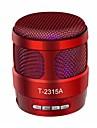 T2315A Bluetooth 4.1 3.5mm Bokhyllehögtalare Vit Svart Mörkblå Röd Ljus Svart