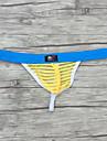 Bărbați Plasă, Dungi - Super Sexy Briefs Talie Joasă